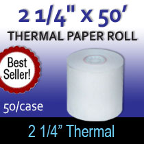 Thermal Tape 2 1/4x50ft