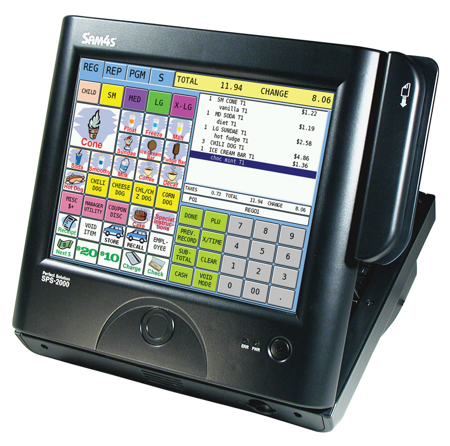 Sam4s SPS-2000 Touch Screen